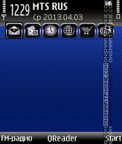 BlueGrey+ theme screenshot
