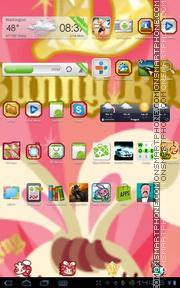 Bunny King theme screenshot