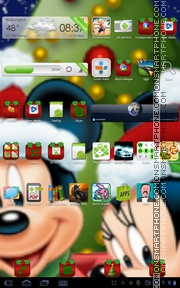 Micky & Minnies theme screenshot