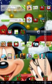 Скриншот темы Micky & Minnies