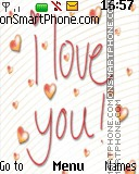 i love you 14 es el tema de pantalla