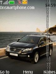 Capture d'écran Lexus RX300 thème