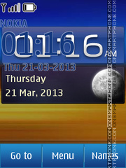 Samsung Galaxy theme screenshot
