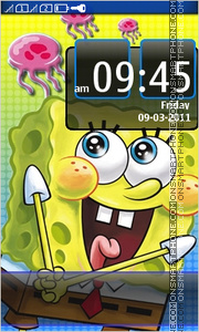 Sponge Bob 13 tema screenshot