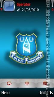 Everton theme screenshot