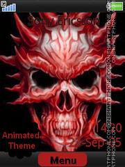 Capture d'écran Skull thème