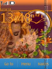 Redhead theme screenshot