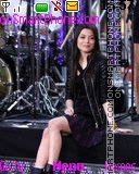 Miranda Cosgrove theme screenshot