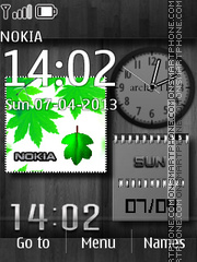Spring Widgets theme screenshot