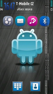 Android HD 01 theme screenshot