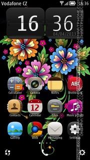 HD Flowers es el tema de pantalla