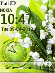 Spring Flowers Theme-Screenshot