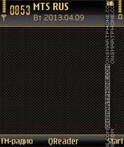GoldenShade theme screenshot