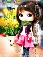 Spring Doll theme screenshot