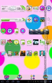 Cupcake 01 Theme-Screenshot