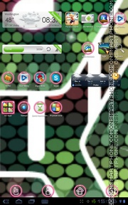 Color Musique theme screenshot