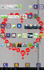 Love Matches tema screenshot
