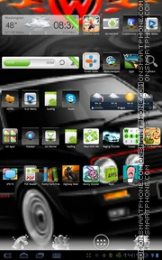 Volkswagen Golf MK2 GTI theme screenshot