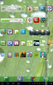 Super Gloss tema screenshot