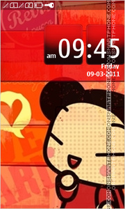 Pucca 03 theme screenshot
