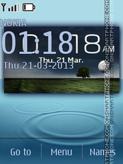 Samsung Galaxy Note II HD theme screenshot