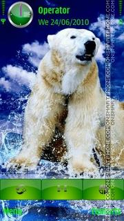 Polarbear tema screenshot