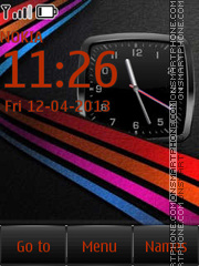 Color Line By ROMB39 tema screenshot