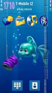 Aqua Surprise 3D Icons theme screenshot