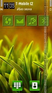 Grass HD v5 tema screenshot