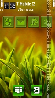 Grass HD v5 theme screenshot