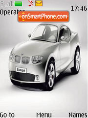 Bmw X Coupe Ani theme screenshot