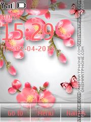 Скриншот темы Spring Tender Flowers