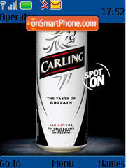 Carling 01 theme screenshot
