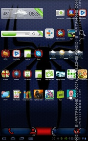 Spider 08 theme screenshot
