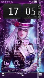 Скриншот темы The magician 01