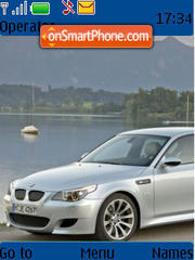 Bmw M5 02 theme screenshot