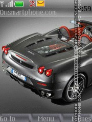 Ferrari F430 tema screenshot