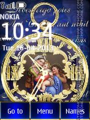 Religion Clock theme screenshot