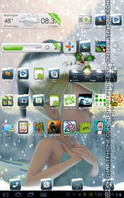 Tinkerbell Christmas theme screenshot
