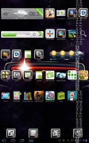 Скриншот темы Angry Birds III