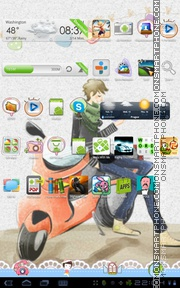 Prince 08 theme screenshot