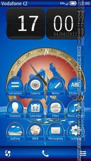 Compass 02 theme screenshot