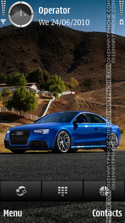 Audi RS5 theme screenshot