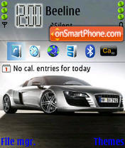 Audi 02 theme screenshot
