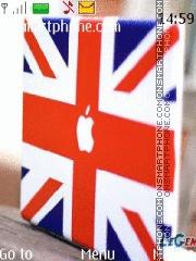 British Flag es el tema de pantalla