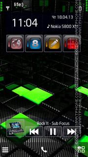 Black G es el tema de pantalla