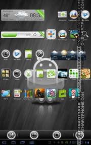 SilverBall 01 theme screenshot