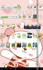Happyness theme screenshot