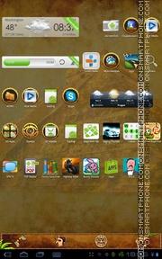 Capture d'écran Maya Pyramid thème