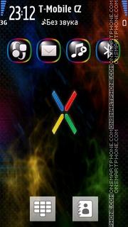 Xperia 04 tema screenshot